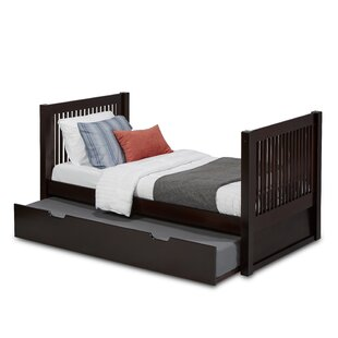 Bargain Oakwood Twin Platform Bed with Trundle by Harriet Bee Reviews (2019) & Buyer's Guide