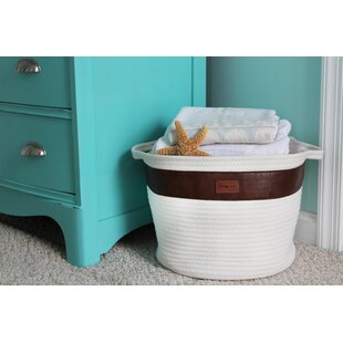 Reviews Rope Storage Fabric Bin By Highland Dunes