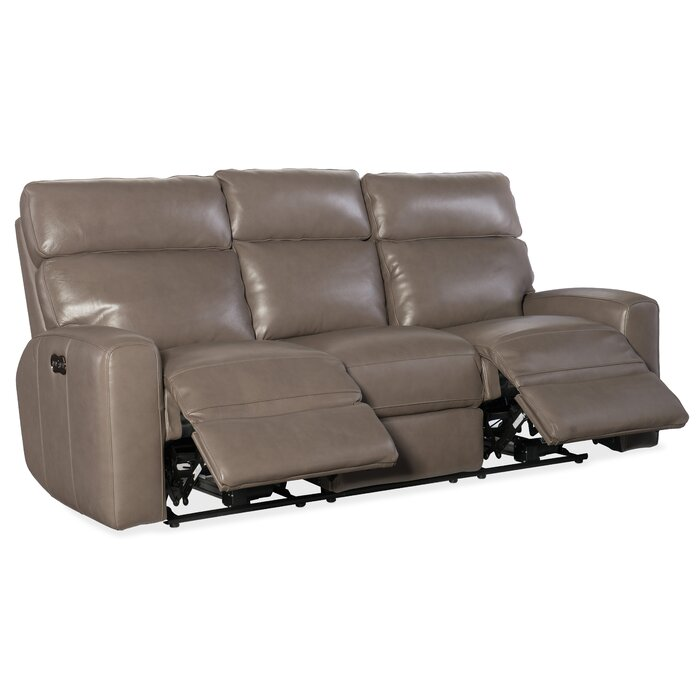 Mowry Motion Leather Reclining Sofa