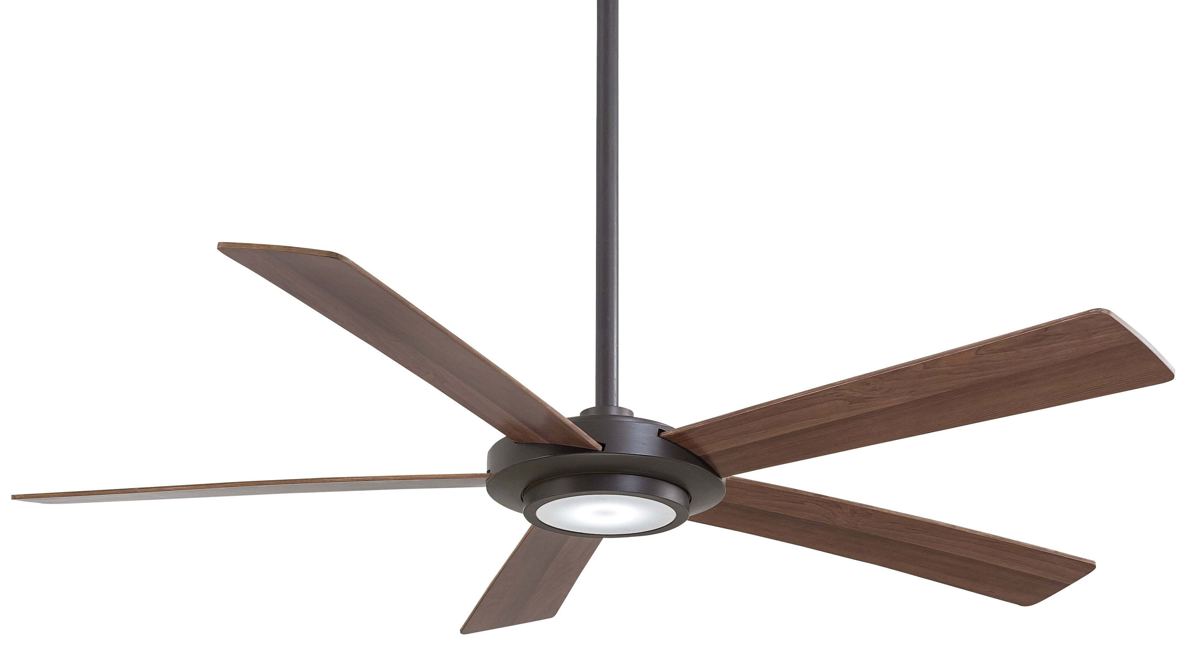 Minka Aire 52 Sabot 5 Blade Led Ceiling Fan With Remote Reviews Wayfair