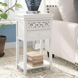 Nagel End Table With Storage By Charlton Home
