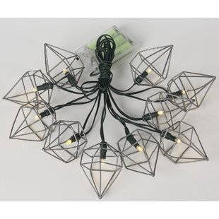 Harleigh 12.79 ft. 10-Light Novelty String Light by Turn on the Brights