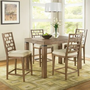 Mulberry 5 Piece Dining Set Greyleigh