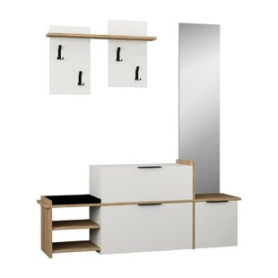 Best Price Roseau 3 Piece Hallway Set