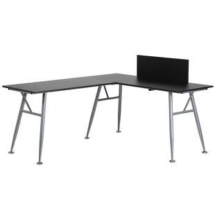 Savings Rawley L-Shape Computer Desk ByWade Logan