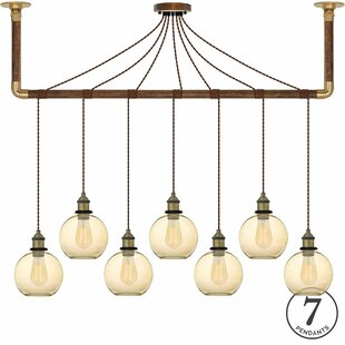 17 Stories Jasmine 7-Light Kitchen Island Pendant