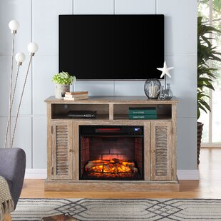 Price Check Contreras Infrared TV Stand for TVs up to 48 with Fireplace by Alcott Hill Reviews (2019) & Buyer's Guide