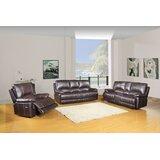 Olamon 3 Piece Reclining Living Room Set by Red Barrel Studio®