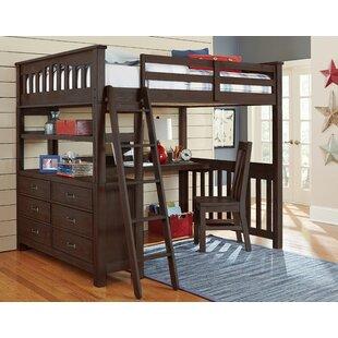 Viv + Rae Allan Full Loft Bed with Desk
