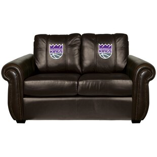Chesapeake Leather Loveseat