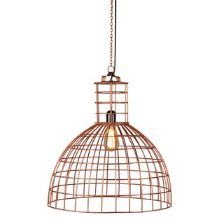 Foreign Affairs Home Decor Llum 1-Light Bowl Pendant