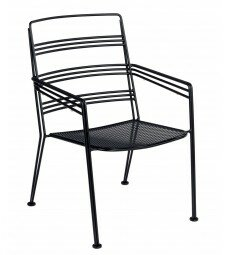 Madison Stacking Patio Dining Chair (Set of 2)