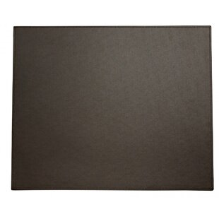 Symple Stuff Faux Leather Desk Mat
