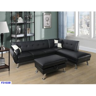 Latitude Run Warrior Sectional with Ottoman