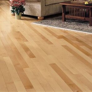 Ahf Products Maple 3 4 Thick X 3 Wide X Varying Length Solid Hardwood Flooring Wayfair
