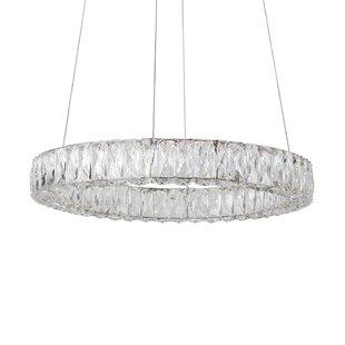 Shatzer 4-Light LED Crystal Chandelier by Orren Ellis