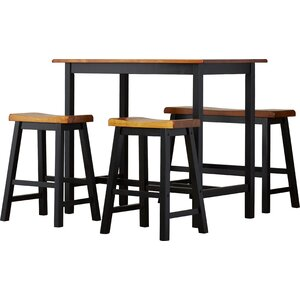 Rockchuck 4 Piece Dining Set by Loon Peak