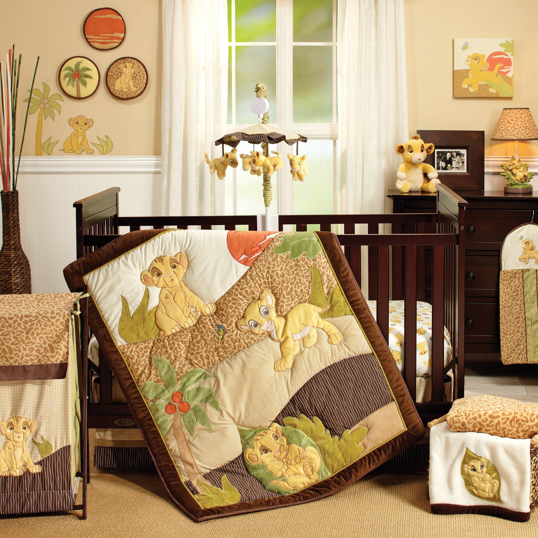 Disney Lion King Simba S Wild Adventure 7 Piece Crib Bedding Set