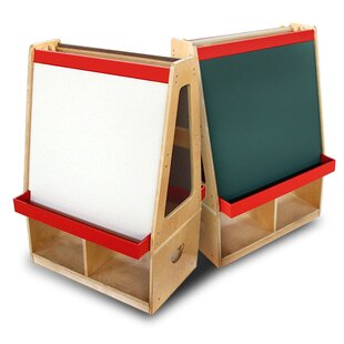 Reviews Double Sided Board Easel ByA+ Child Supply