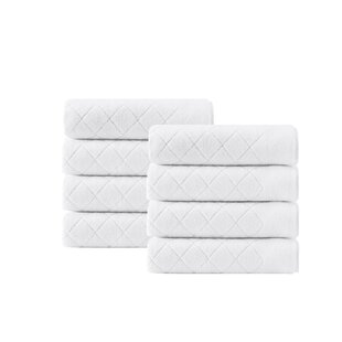 Vine Turkish Cotton Hand Towel (Set of 8)