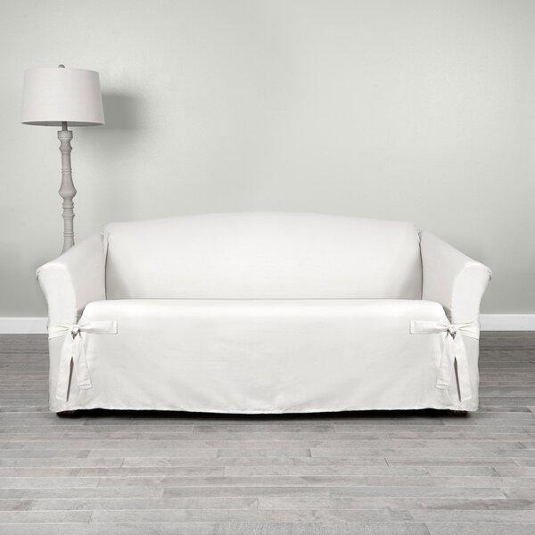 White Cotton Duck Sofa Wayfair