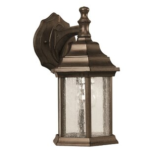 Stewart 1-Light Outdoor Wall Lantern by Alcott Hill Spacial Price