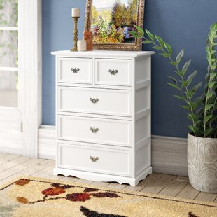 Allis Natural 5 Drawer Accent Chest by Charlton Home