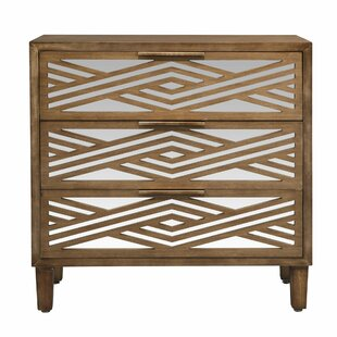 Armisen 3 Drawer Accent Chest by Wrought Studio