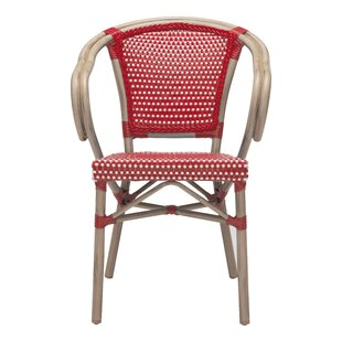 Breakwater Bay Thames Stacking Patio Dining Chair (Set of 2)