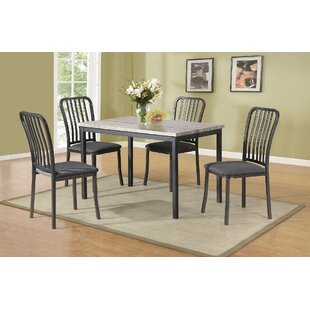 Carrizal 5 Piece Dining Set by Latitude Run