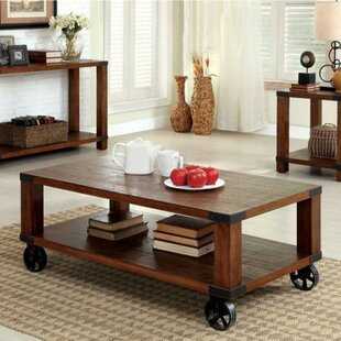 Rona Coffee Table with Storage by Loon Peak