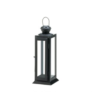 Orren Ellis Star Cutout Iron Lantern
