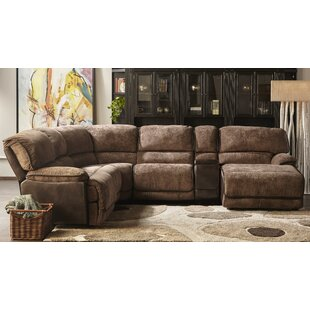 Edgewood Power Reclining Sectional Red Barrel Studio