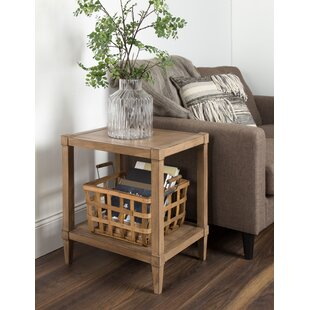Gretchen Wooden Side Accent End Table