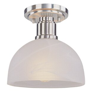 Fielding 1-Light Semi Flush Mo..