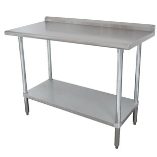 Prep Table by Advance Tabco No Copoun