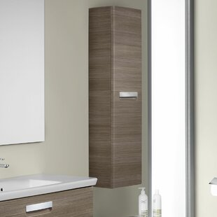 The Gap-N 35 X 120cm Wall Mounted Tall Bathroom Cabinet By Roca