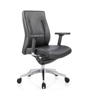 Latitude Run Toomey Conference Mid Back Multi-Function Ergonomic Office Chair