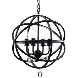Dalveen 4-Light Globe Chan..