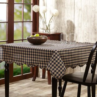 Beau 80x80 Square Tablecloth | Wayfair