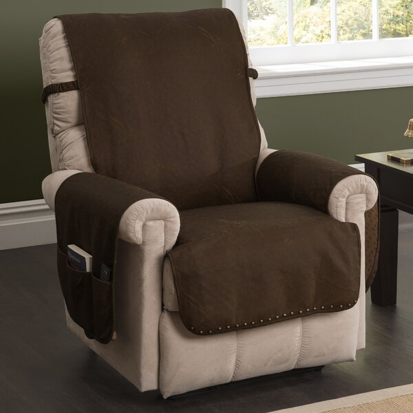 Innovative Textile Solutions Box Cushion Recliner Slipcover U0026 Reviews |  Wayfair