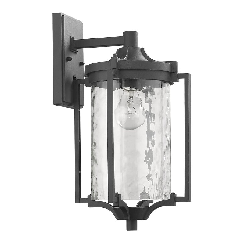 Darby Home Co Chateaugay 1 Blub Outdoor Wall Lantern Reviews Wayfair