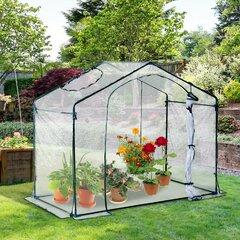 3 x Poly tunnel Cloche Mini Garden Greenhouse Grow Protect Plants 1.7M seeds veg