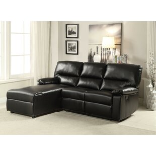 Affordable Ceci Reclining Sectional by A&J Homes Studio Reviews (2019) & Buyer's Guide