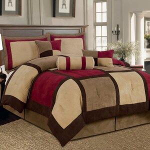 Barnsdale Patchwork 7 Piece Comforter Set