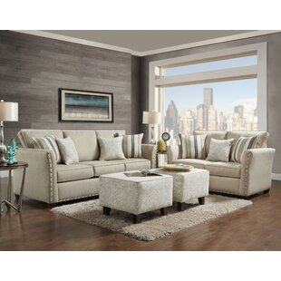 Alcott Hill Ailith 2 Piece Living Room Set