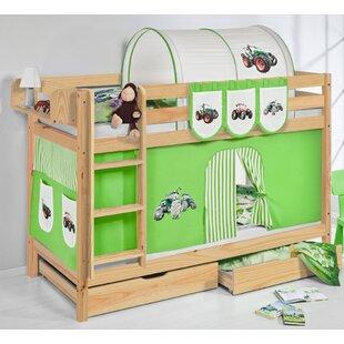 Belle Tractor European Single Bunk Bed By Zoomie Kids