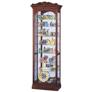 Hastings Lighted Curio Cabinet by Howard Miller®