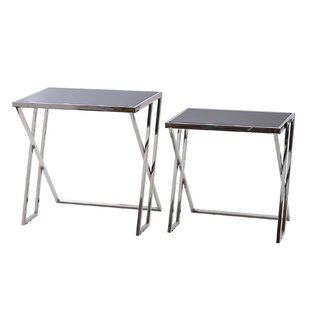 Buskirk 2 Piece Side Table Set By Wade Logan