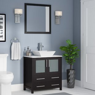 Quickview Wade Logan Karson 30 Single Bathroom Vanity Set